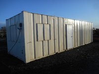 Anti vandal site office for sale