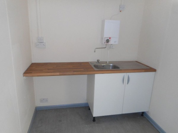 Site office kitchen