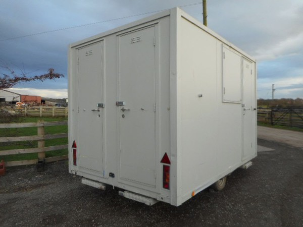 Secondhand welfare unit