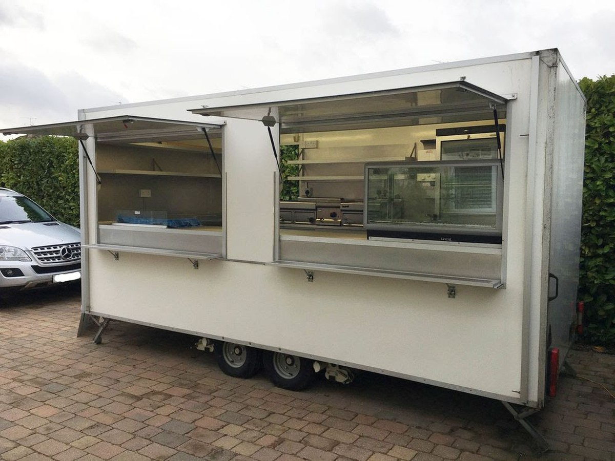 Secondhand Trailers Catering Trailers Lightly Used