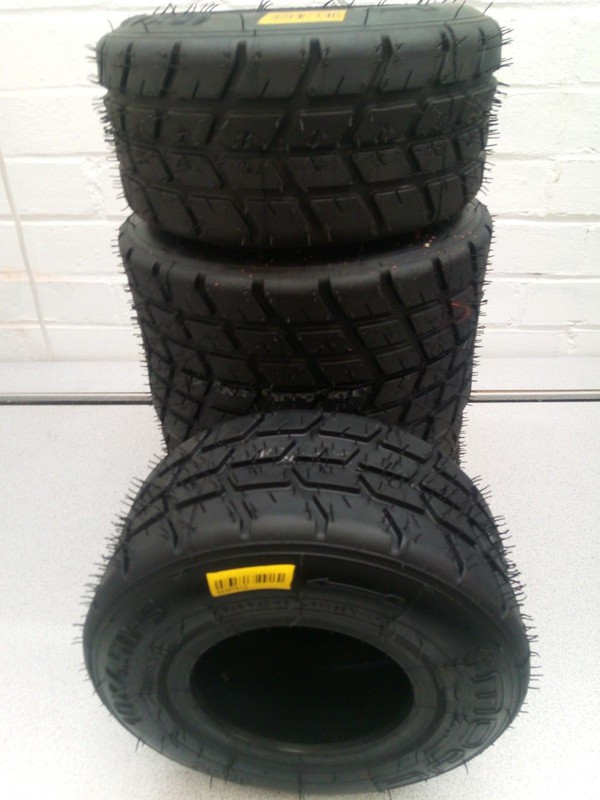 Kart Mojo W2 Wet Tyres For Rotax 2018 Tonykart