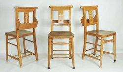 Cross back chairs