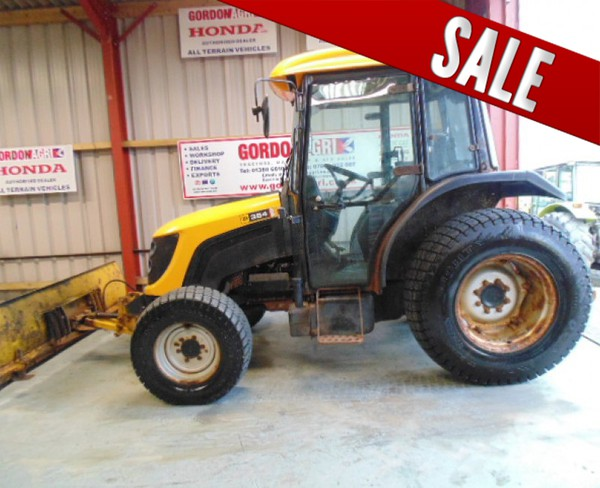 JCB 354 4WD For Sale with Hydraulic Snow Plough
