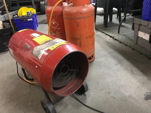 Secondhand heater