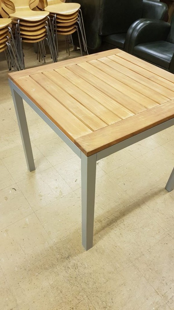 Square Hardwood Tables