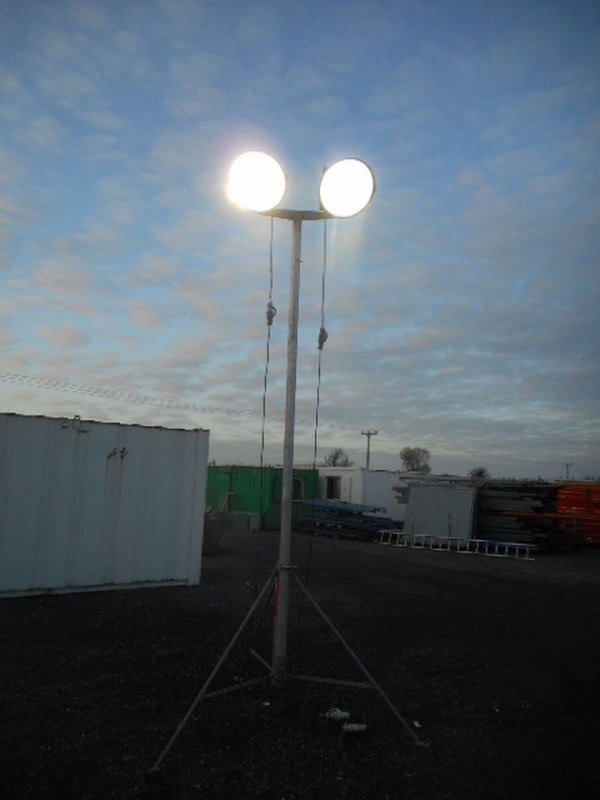 Flood lighting for sites