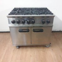 6 burner range cooker