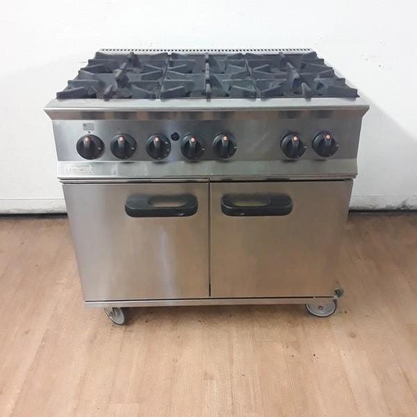 6 burner range cooker