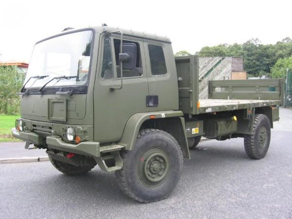 Ex Army Leyland DAF 4X4