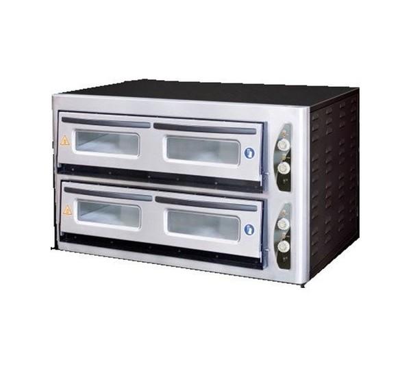 Italinox MK902 Twin Deck Electric Pizza Oven