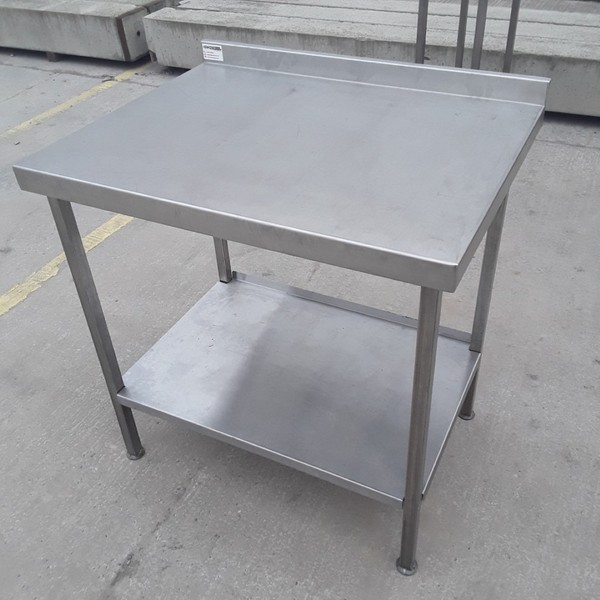 Used steel table