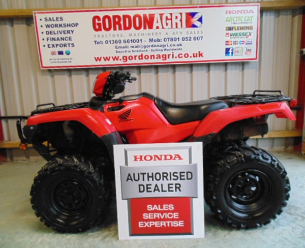 Honda Foreman 500cc, 2016, Serviced & Warranty
