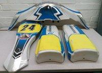 Birel Art Kart Ricciardo FP7 Nose Cone Pods Nassau Panel