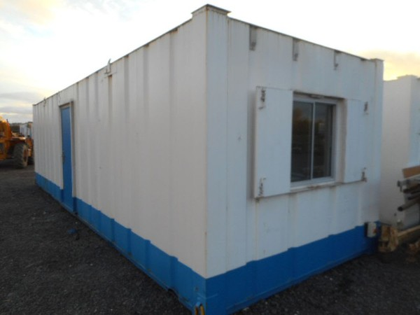 Secondhand shipping container