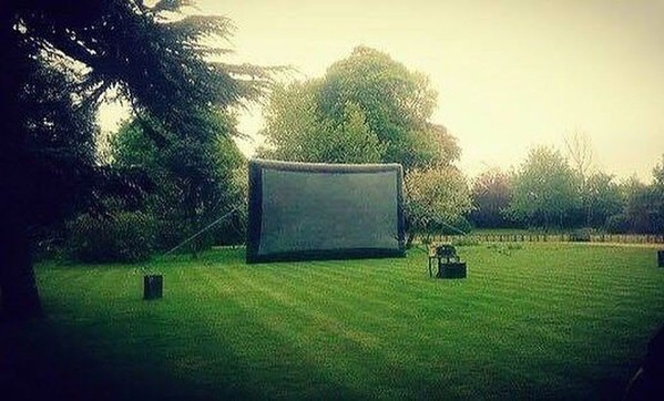 Cinema projector screen for sale