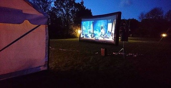 Outdoor screen for sale