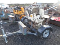 Benford Terex MBR71 complete with trailer