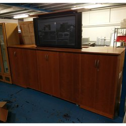 Ex hotel conference room tv cabinet