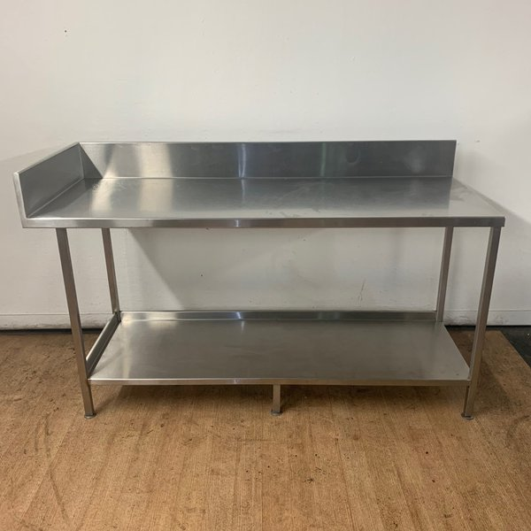 Steel corner table for sale