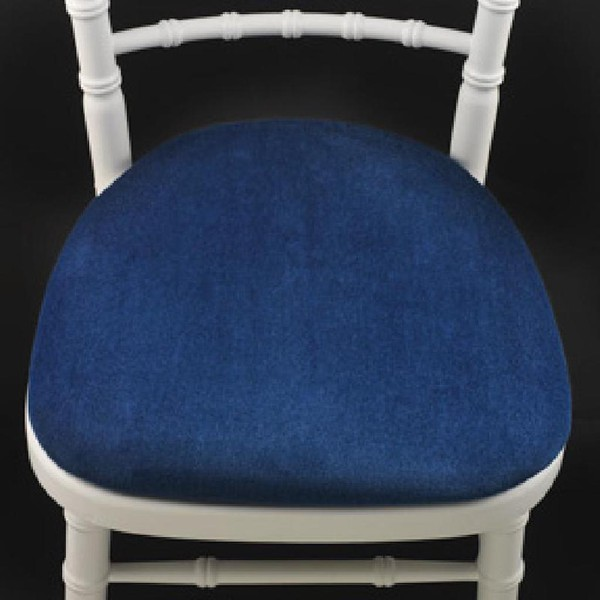 Blue Banquet Chair Seat Pads
