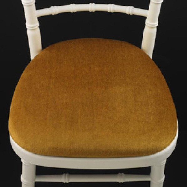 Gold Banquet Chair Seat Pads