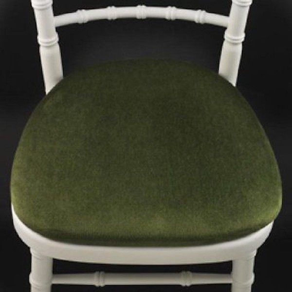 Green Banquet Chair Seat Pads