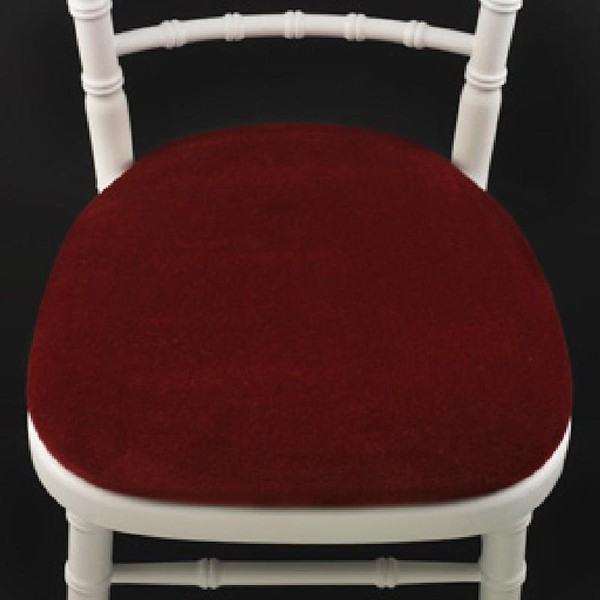 Red Banquet Chair Seat Pads