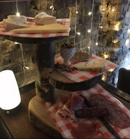 cheese/meat handmade stands