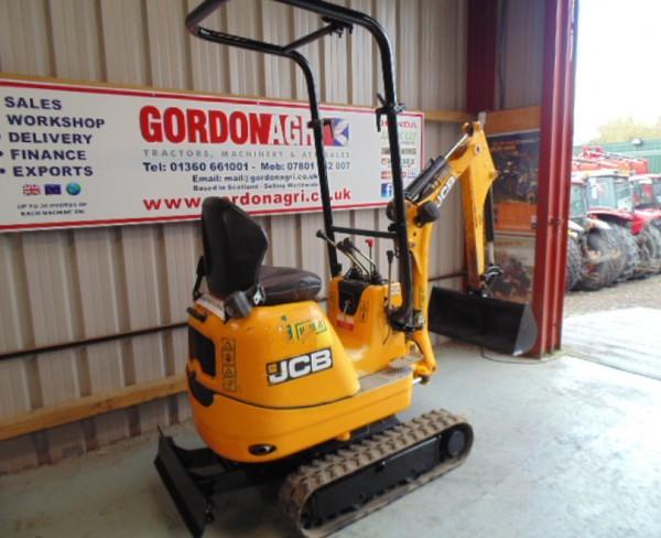 Second Hand JCB 8008 Micro Excavator