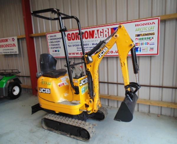 Used JCB 8008 Micro Excavator