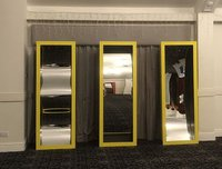 3 circus mirrors