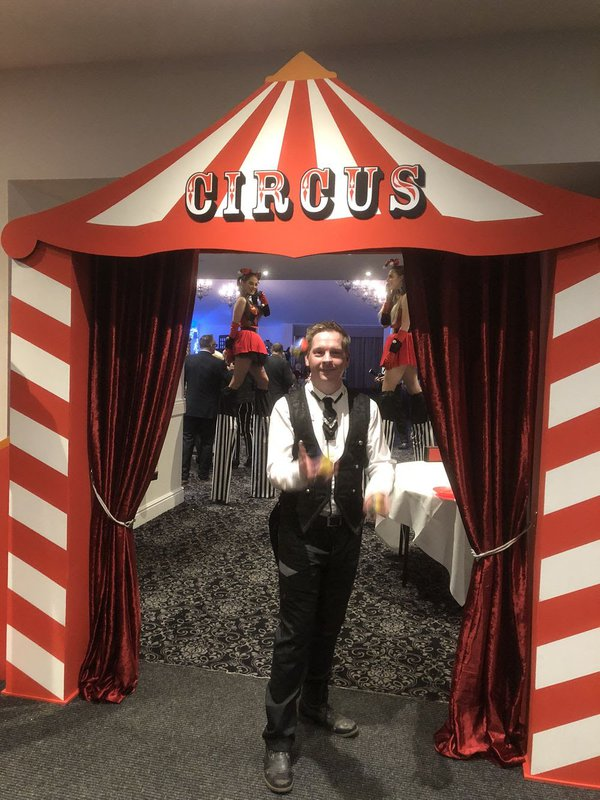 Circus Style Entrance Doorway