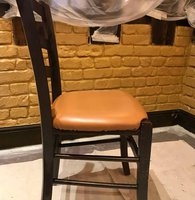 Dark oak restaurant chairs for sale