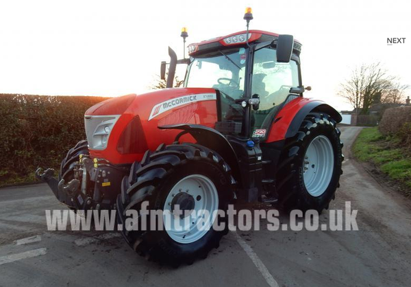 Buy Used McCormick X7.660 Tractor