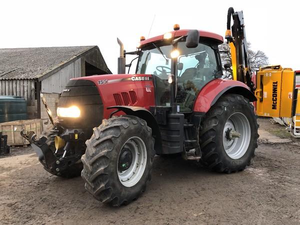 Used Case Puma 155 Tractor