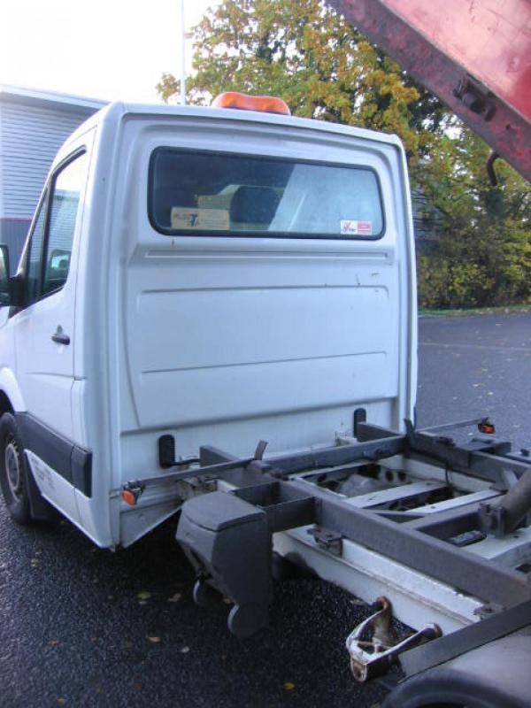 Buy Used VW Crafter dropside tipper