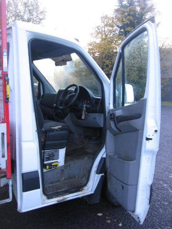 Ex Council 2013 VW Crafter dropside tipper