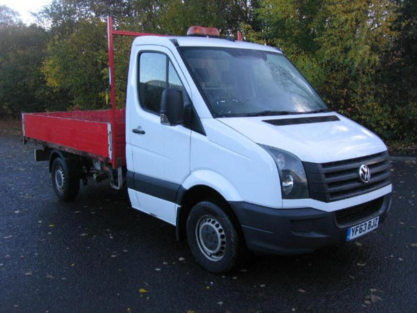 Ex Council VW Crafter dropside tipper