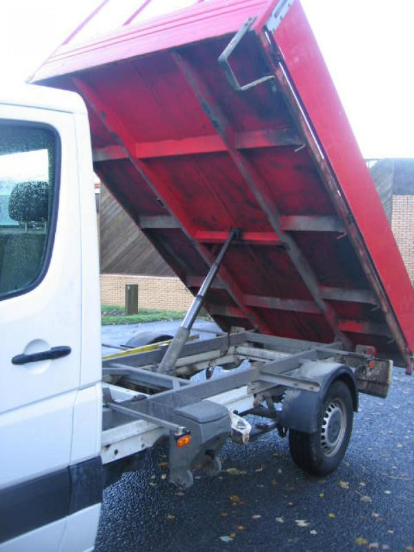 Selling VW Crafter dropside tipper