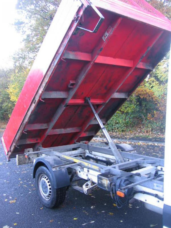 Used 2013 VW Crafter dropside tipper
