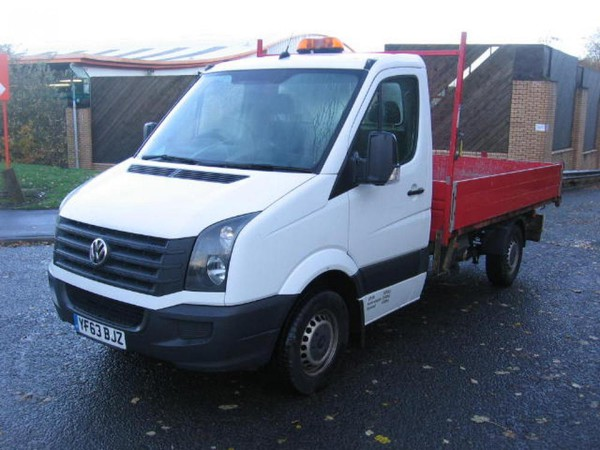 Used VW Crafter dropside tipper