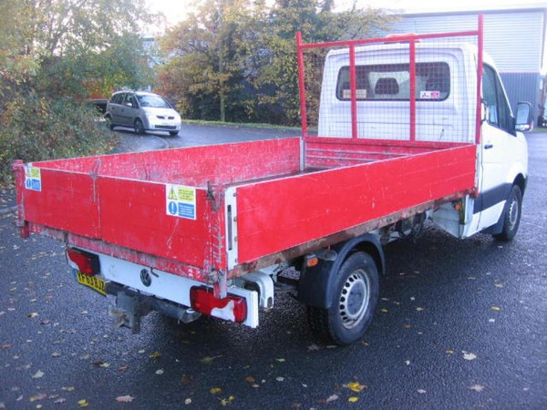 VW Crafter dropside tipper