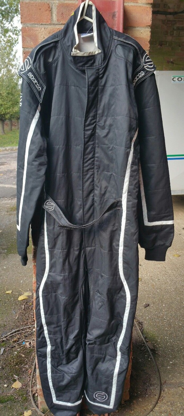 Sparco KS-3 Size XL Kart Race Suit, Karting Overalls