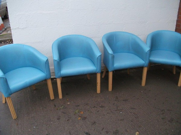 4x Tub Chairs (CODE TUB 279)