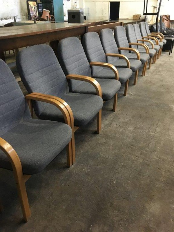 11x Reception Chairs (CODE RC 101)