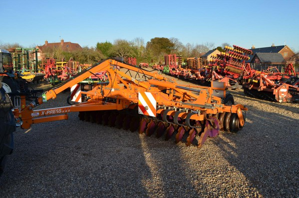 Used Simba 4M X-Press (Trailed) Light Cultivator