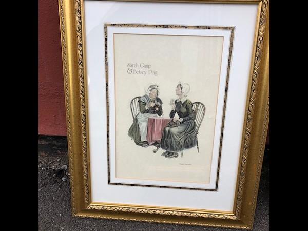 Deco framed print