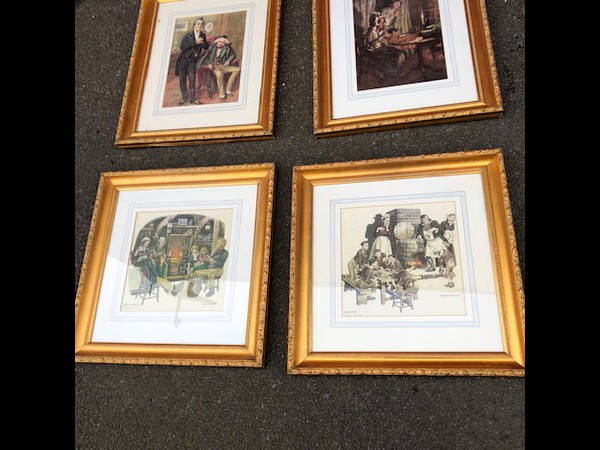 Used framed prints for sale