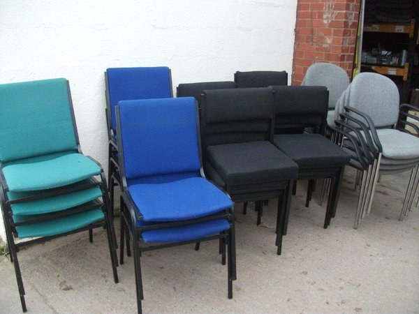 Stacking chairs for sale