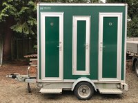 1 + 1 Green toilet trailer for sale